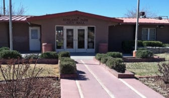 Sunland Park City Hall (Photo by Heath Haussamen)