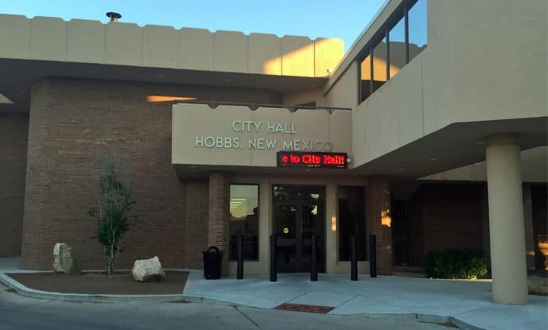 City Hall in Hobbs, N.M.