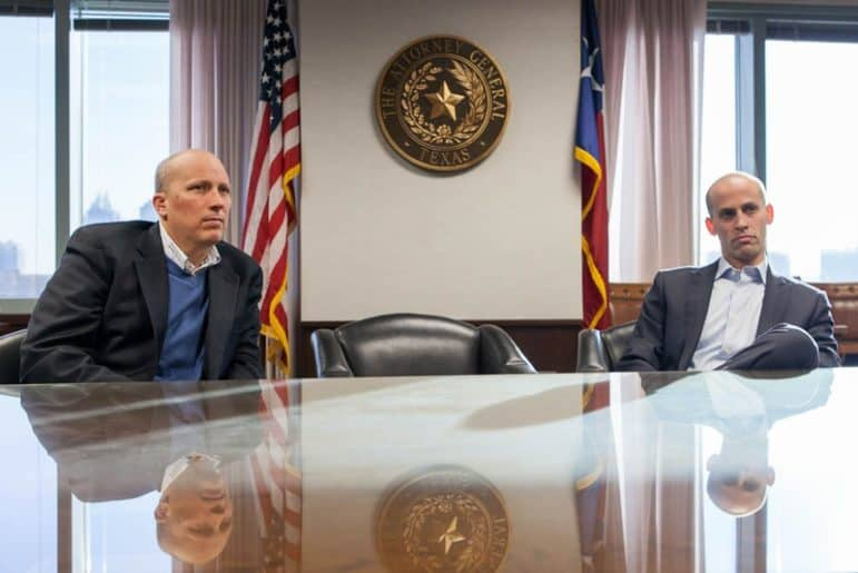 Texas First Assistant Attorney General Chip Roy and Solicitor General Scott Keller