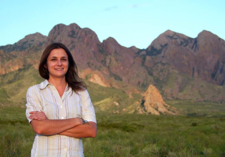This column's author, Meg G. Freyermuth, shown here, is a full-time artist, musician, writer, gardener, explorer, and volunteer from Las Cruces.