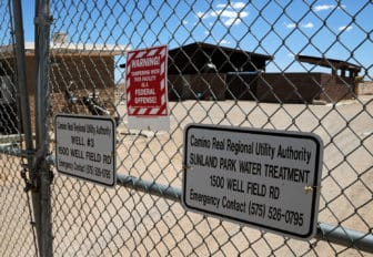 Sunland Park water treatment plant