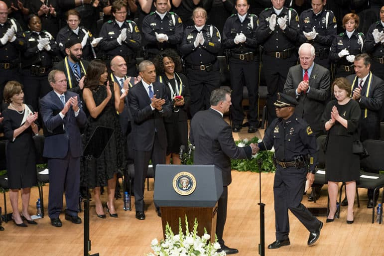 Obama: Work of police 'like no other'