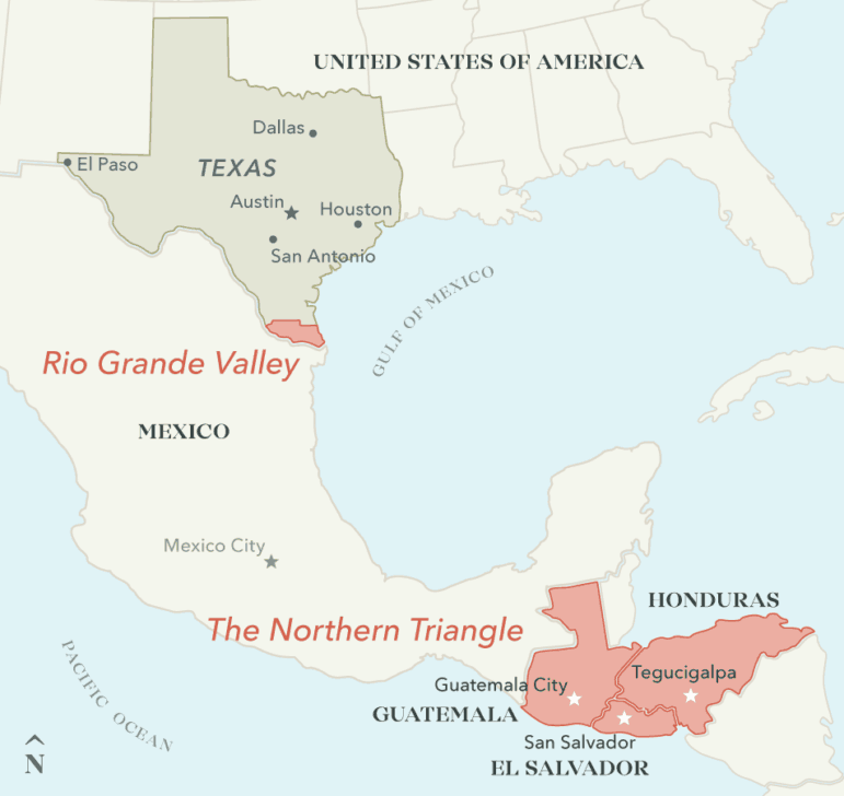 Geography and tradition make South Texas the closest and most common point of illegal entry from Central America.