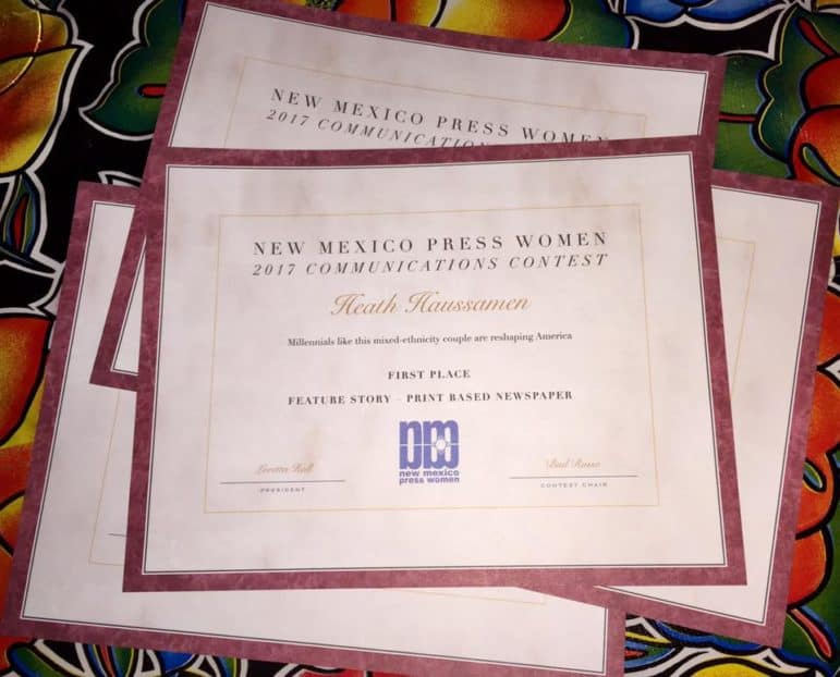NM Press Women awards