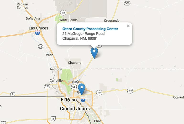 Conditions at Otero County ICE detention center raise